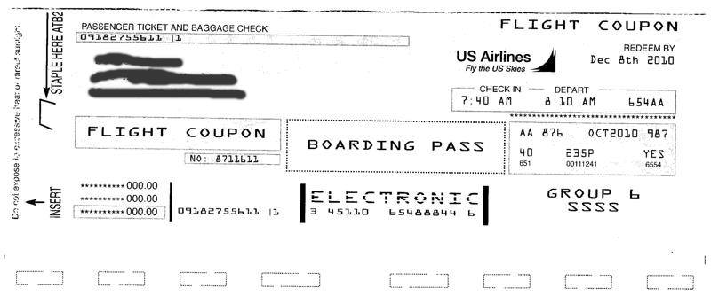 Letter from us airlines about free airline tickets brian morris here spiritdancerdesigns Choice Image
